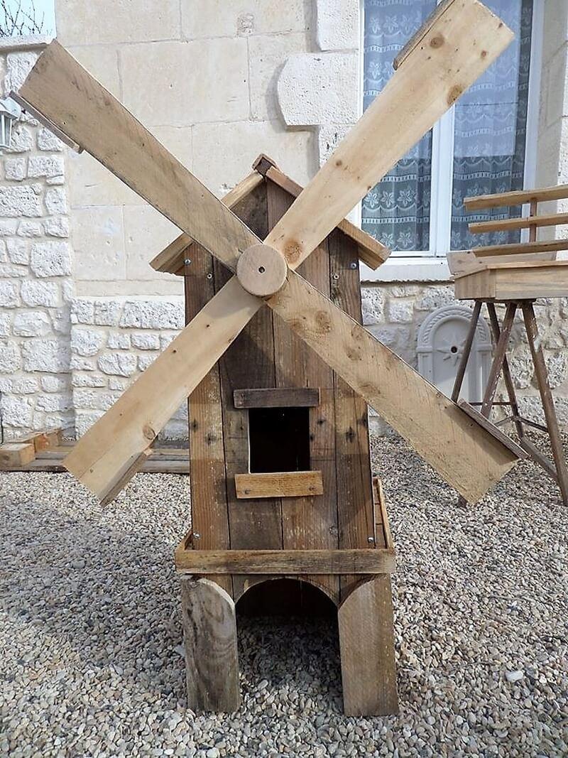 pallet wooden garden craft 1