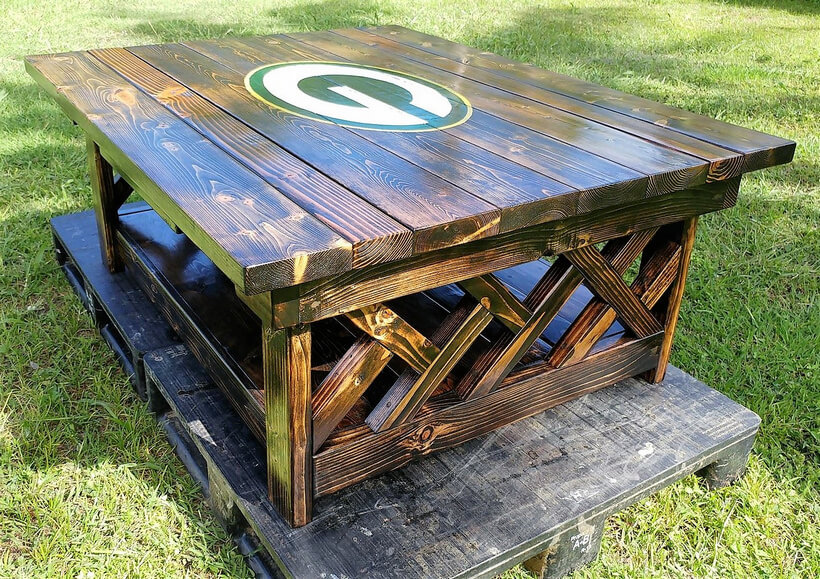 pallet xl coffee table