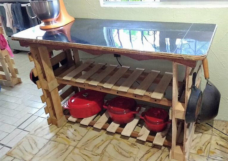 pallets kitchen table idea 2