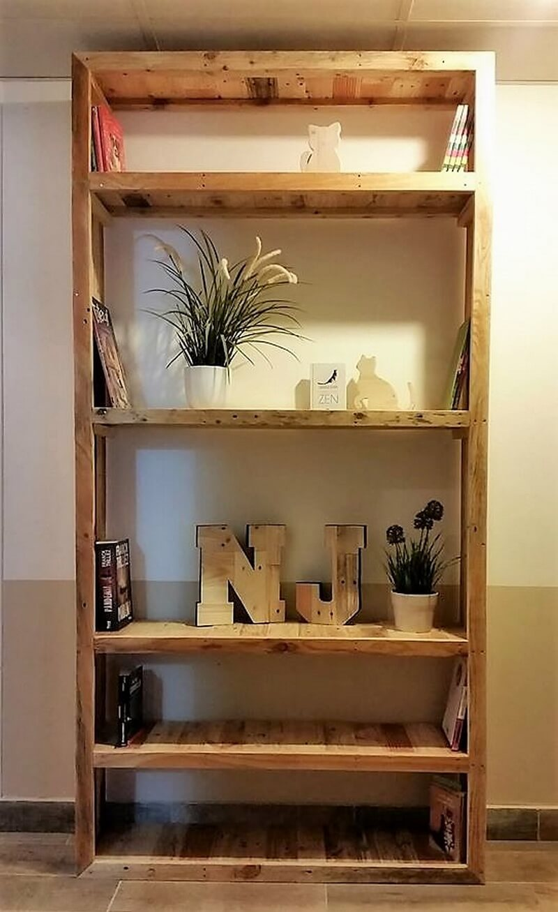 pallets shelving cabinet plan 1