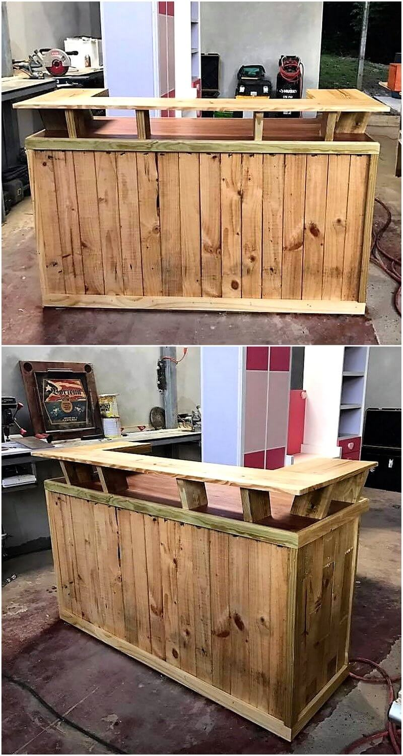 ways to give used shipping pallets a new look pallet ideas. Black Bedroom Furniture Sets. Home Design Ideas