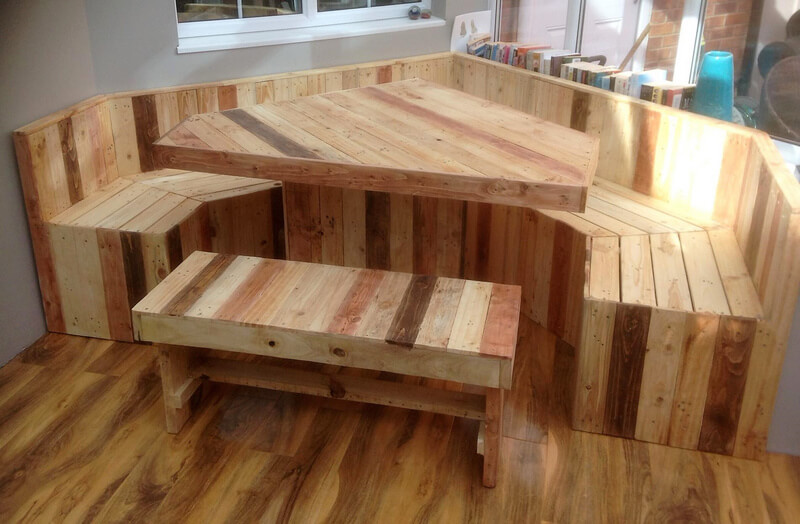 reclaimed pallets patio deck furiture