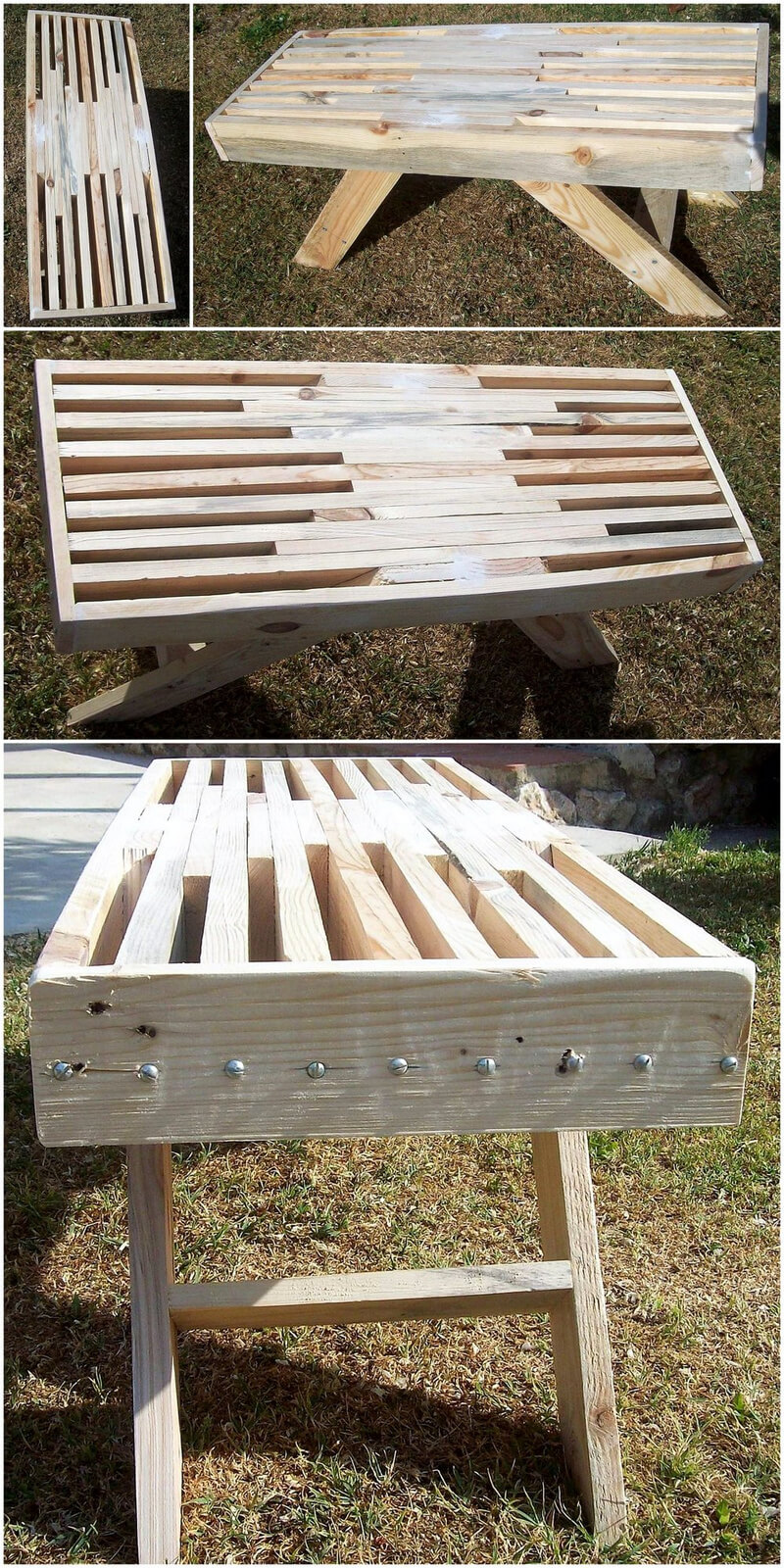 repurposed pallets table idea