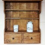 Wooden Pallets Rustic Shelf for Kitchen