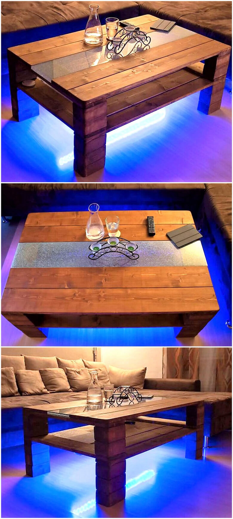 wooden pallet table idea