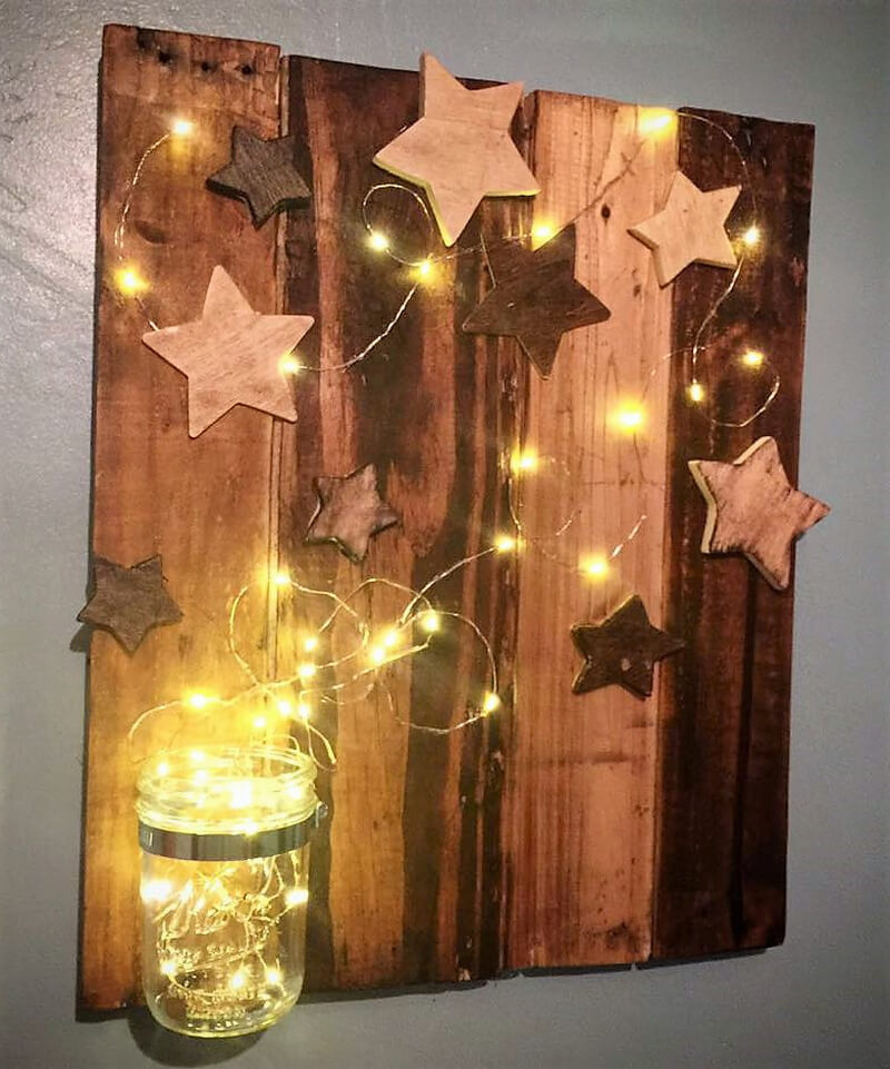 50 easy diy ideas out of wooden pallets pallet ideas Simple wall art