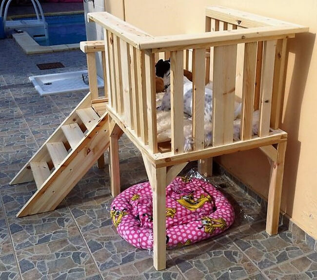 pallets dog bed