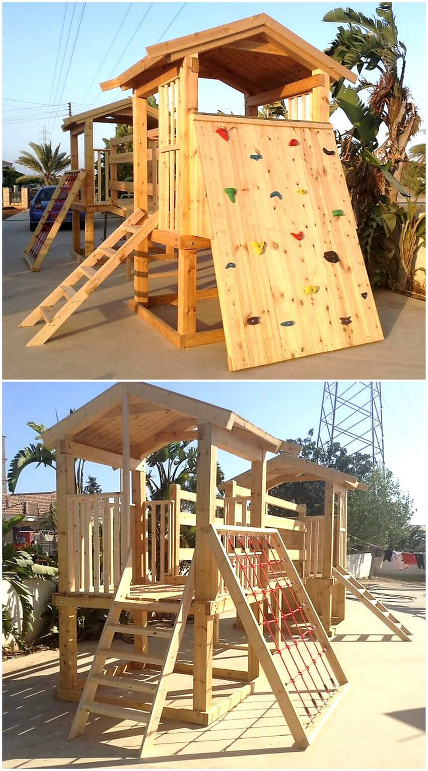 pallets kids fund land