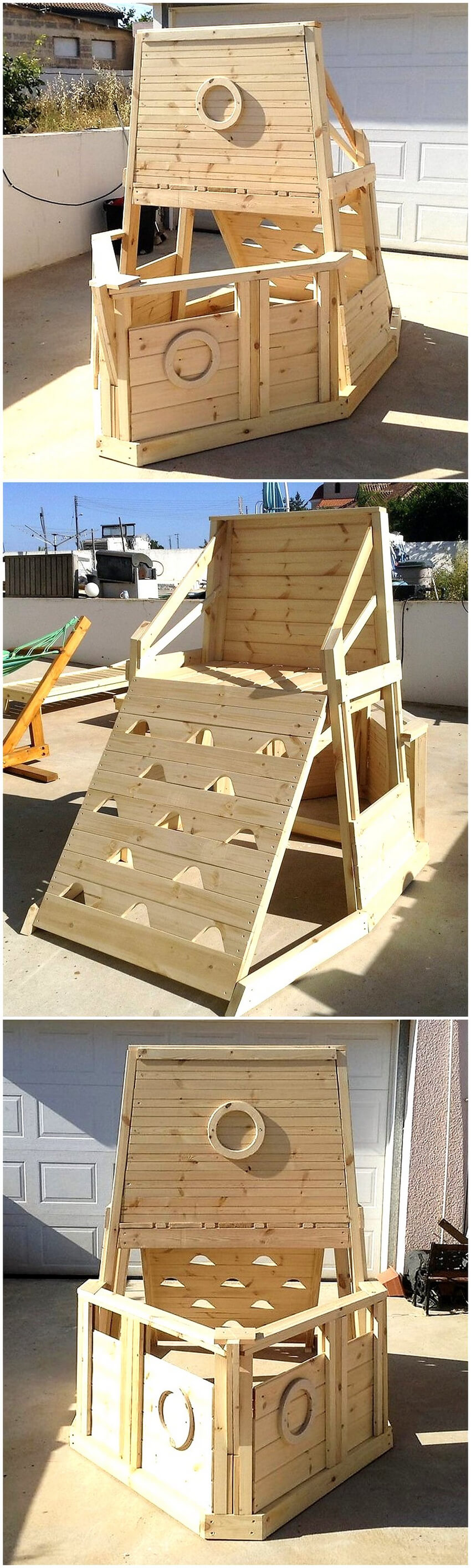 pallets kids play yard