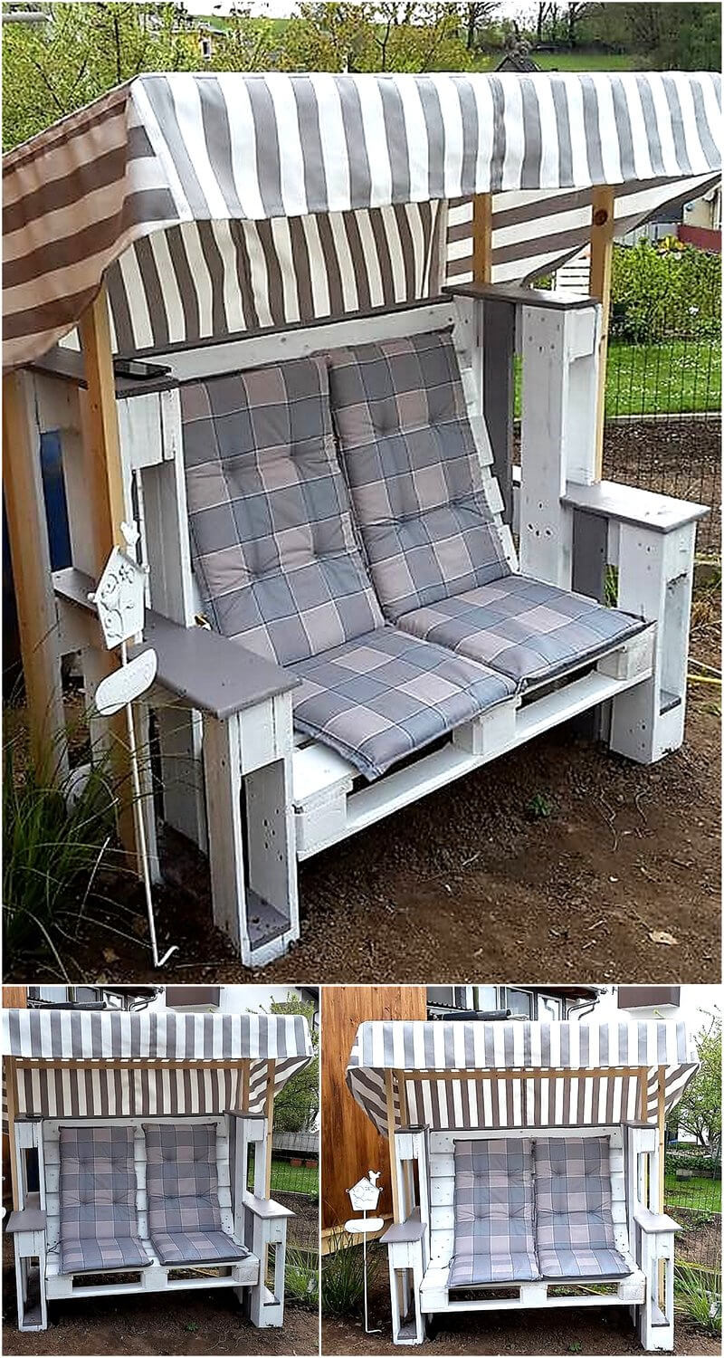 ever you think about these pallet recycling ideas. Black Bedroom Furniture Sets. Home Design Ideas