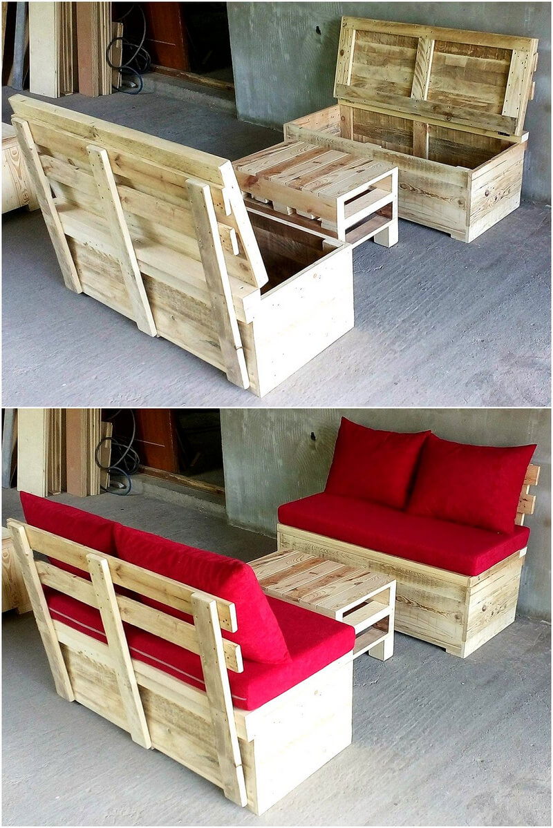 Creative diy ideas with reclaimed wood pallets pallet ideas