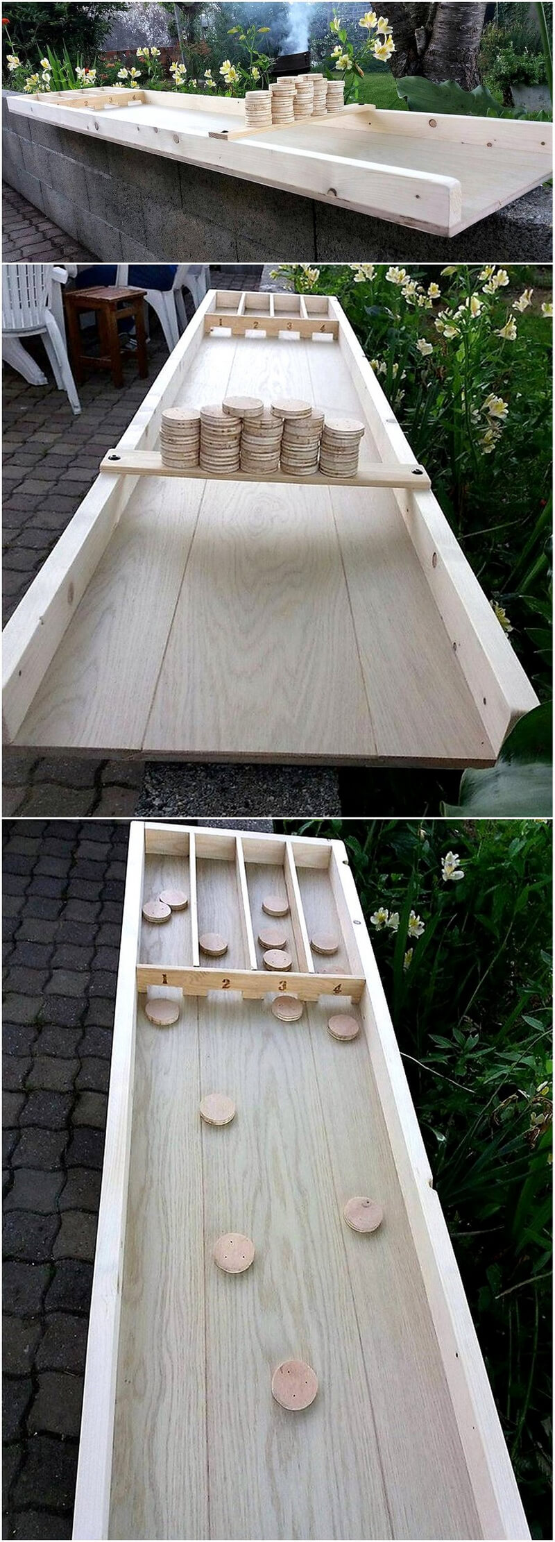 Pallets Made Dutch Billiards Game
