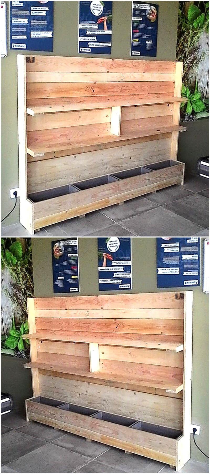 multipurpose pallet cabinet