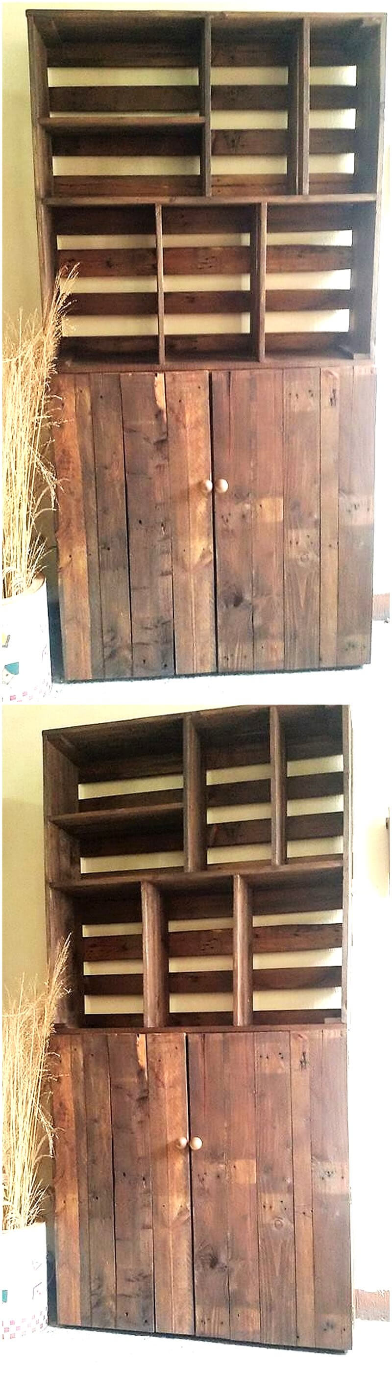 pallets wardrobe idea