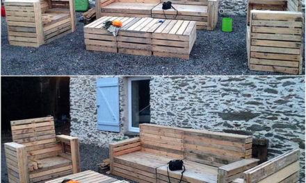 Great Ideas Out of Recycled Wooden Pallets