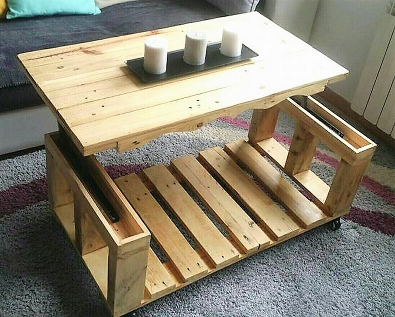 wood pallet table plan