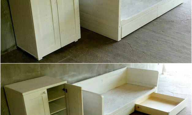 Stunning DIY Ideas for Wooden Pallets Reusing