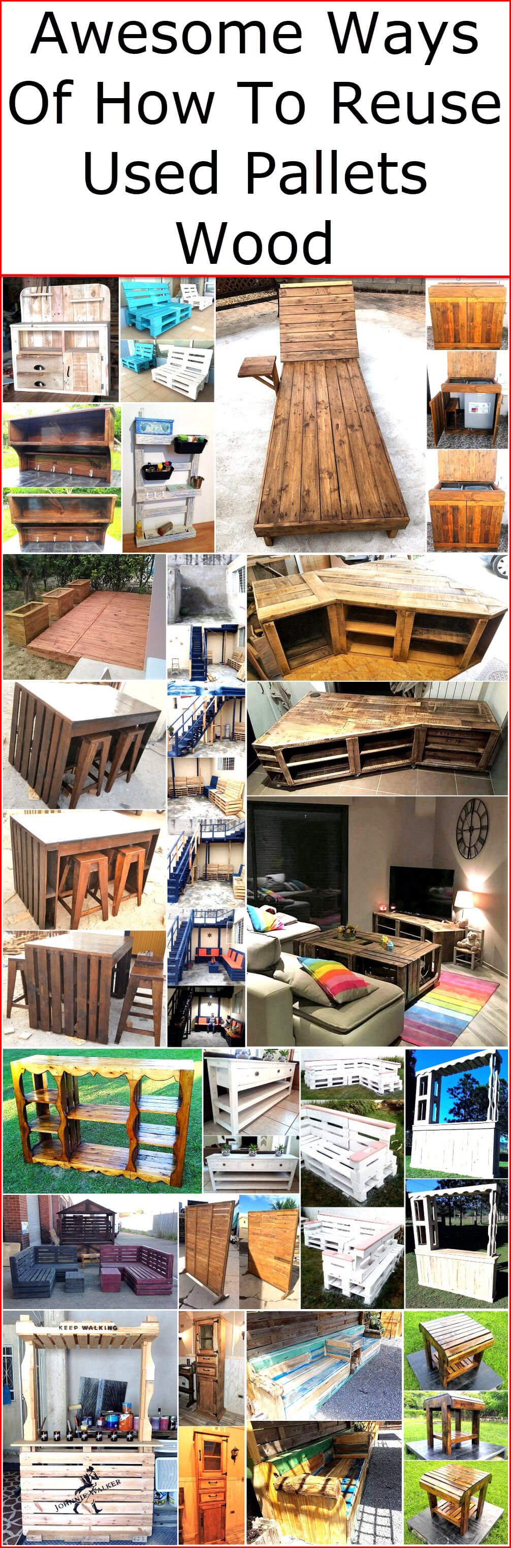 Awesome Ways Of How To Reuse Used Pallets Wood (1)