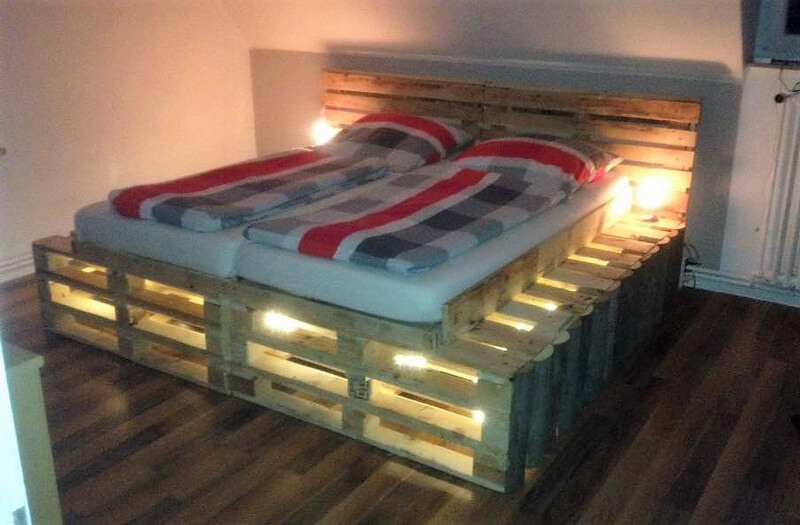 diy pallet bed plan 2