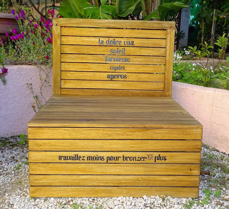 pallets daybed project