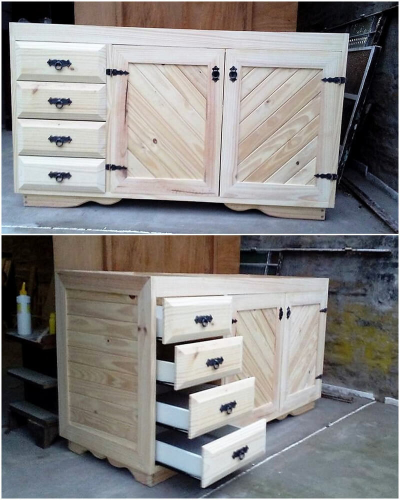 pallets tv stand idea