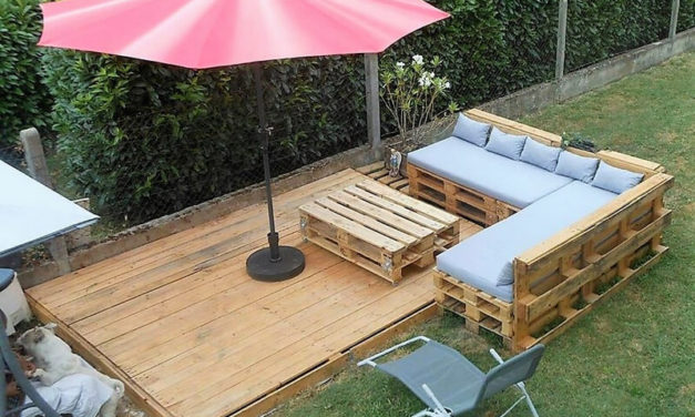 Adorable, Affordable DIY Ideas with Recycled Pallets
