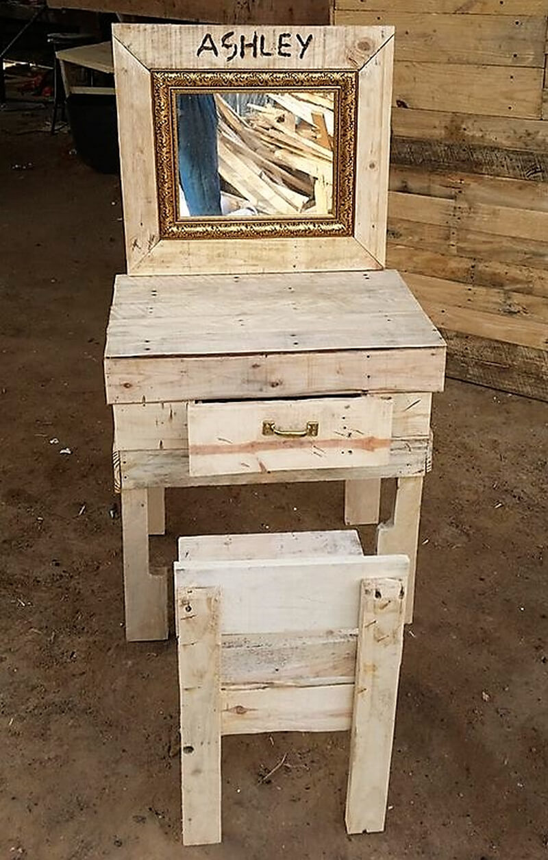 wooden pallets vanity : pallet step stool - islam-shia.org