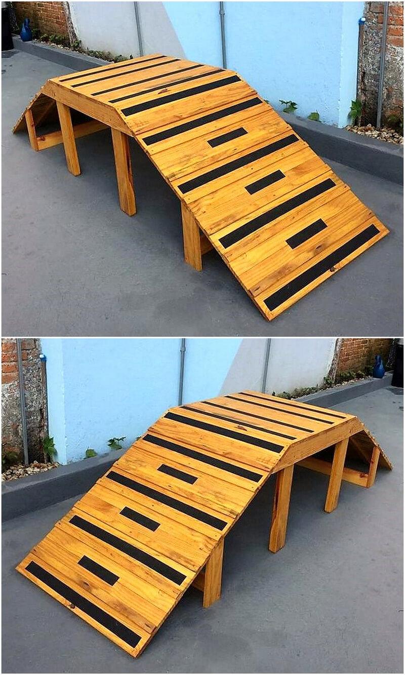 garden decor bridge idea