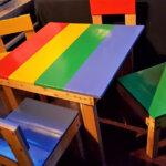 Repurposed Pallets Made Kids Furniture Set
