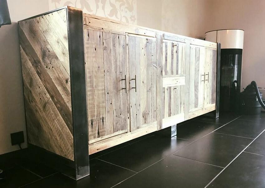 pallet entrance table idea
