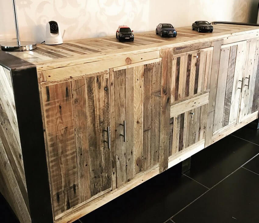 Foyer Table Made From Pallets : Wooden pallets made entryway table idea pallet ideas