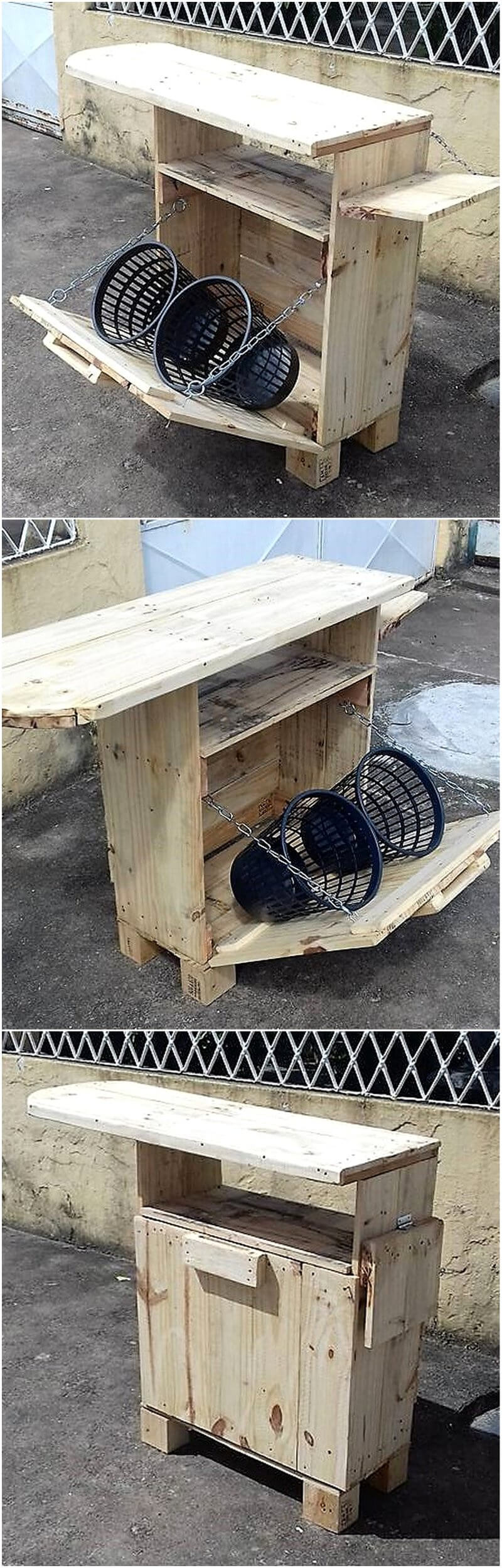 pallets laundary table