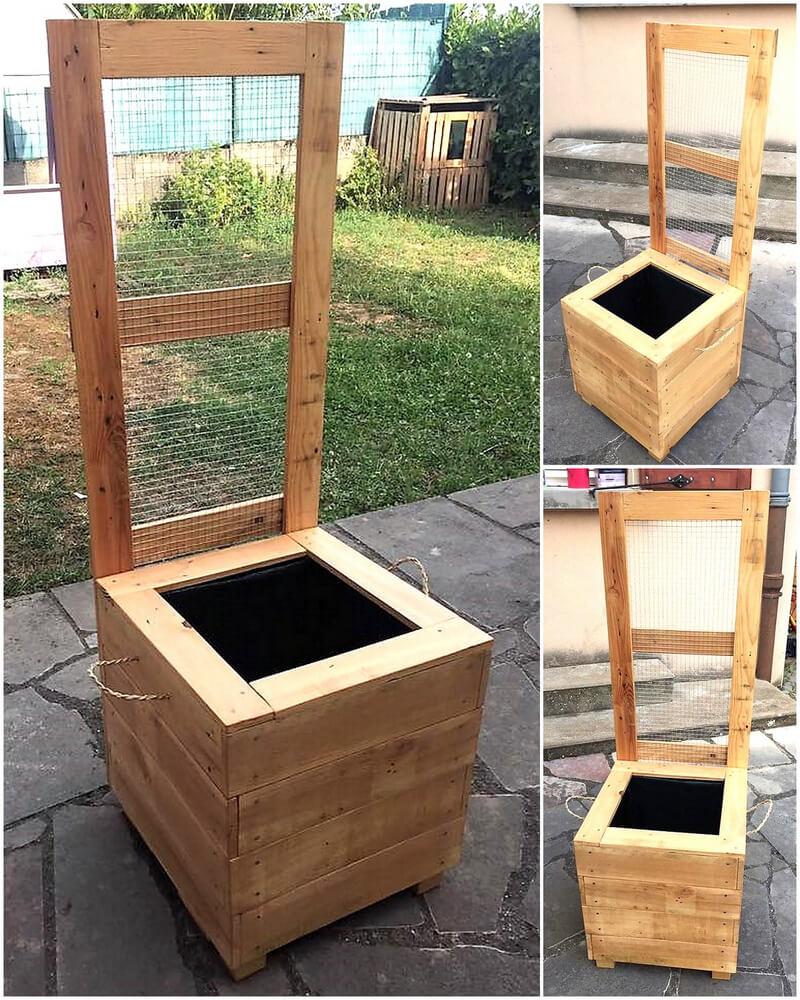 pallets made Gardener
