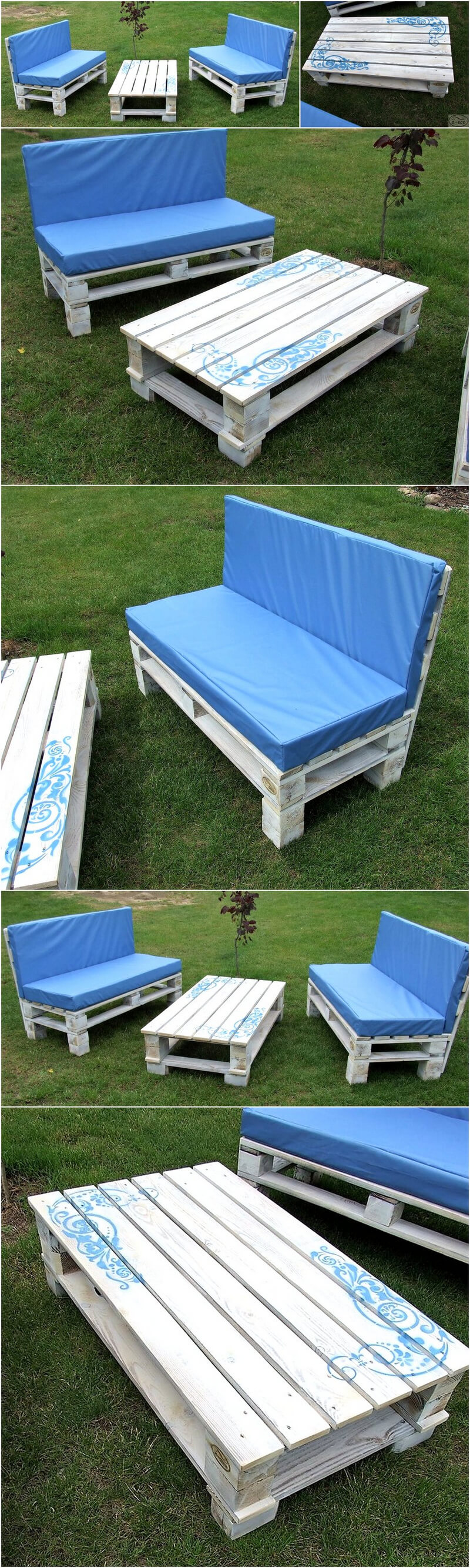 pallets patio furniture