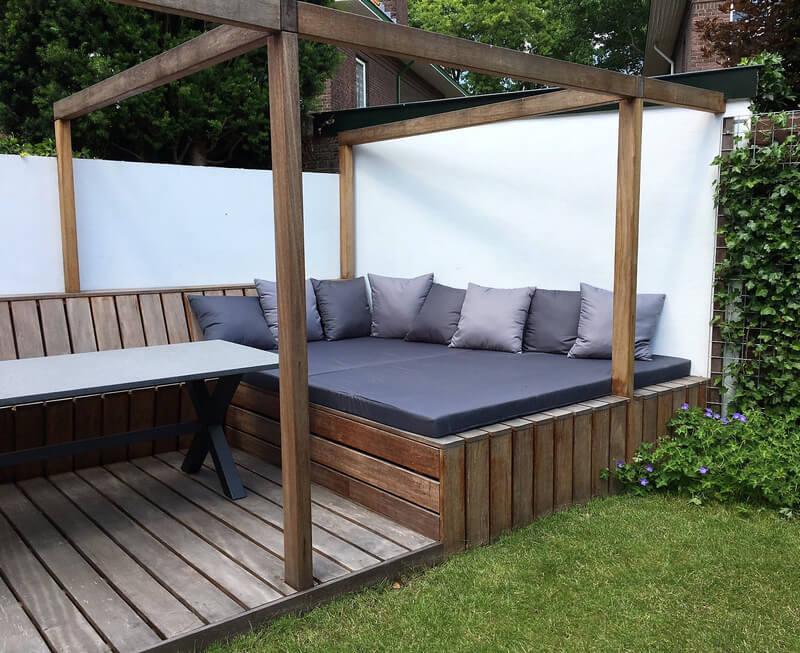 pallets patio lounge plan