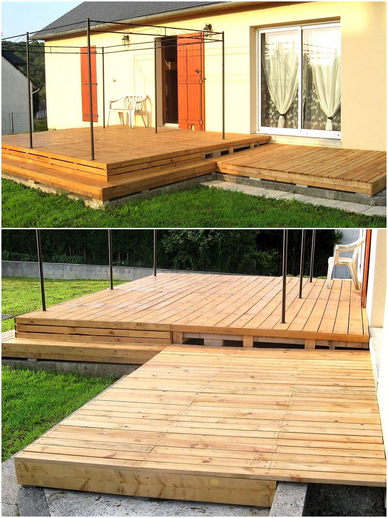 Creative ways to reuse and recycle wood pallets pallet ideas for Wood pallet gazebo