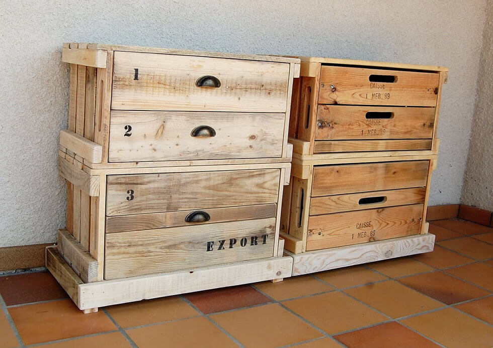 Pallet Foyer Table : Pallets wood made pair of entryway tables pallet ideas