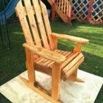 DIY Wood Pallets Rocking Chair Plan