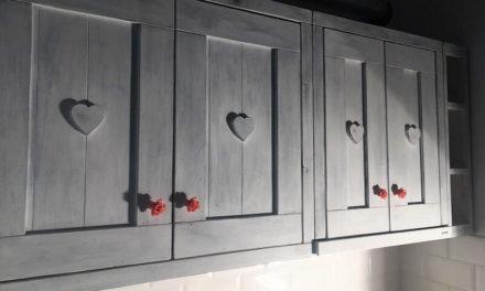 Wooden Pallets Kitchen Storage Cabinets Plan