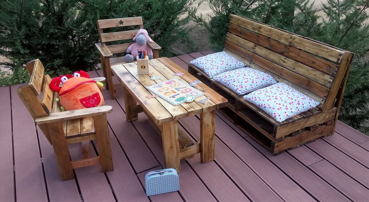 pallets as furniture. Wooden Pallets Furniture As
