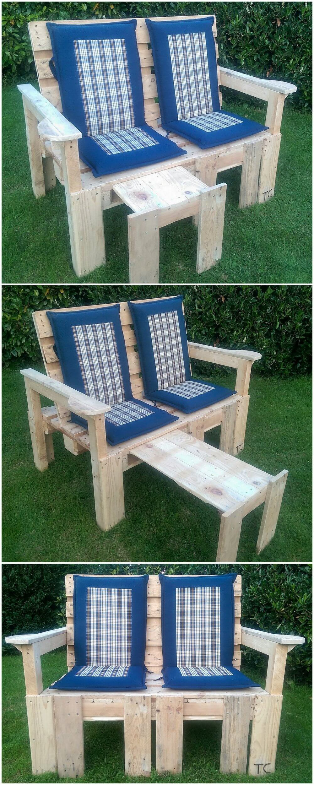 Fresh Patio Furniture Made Out Of Pallets