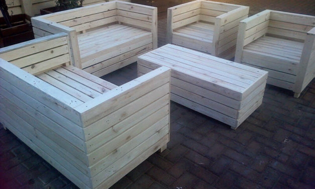 Smart Creations with Reused Wooden Pallets