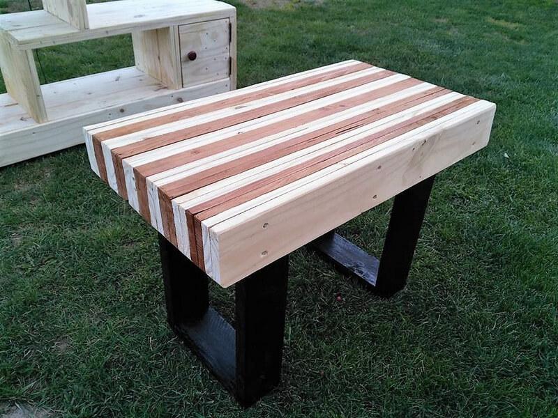 pallets centre table