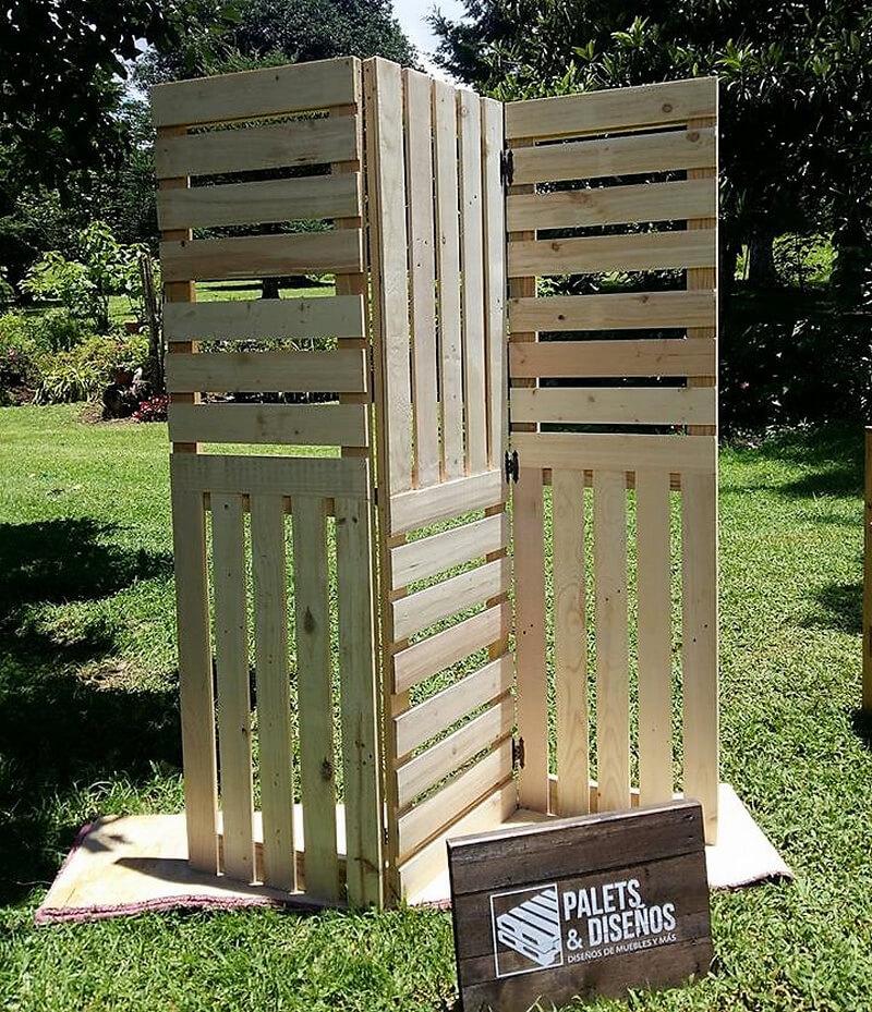 pallets space divider