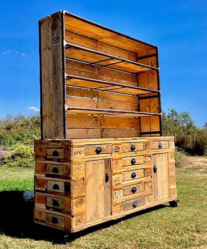 pallets storage cabinet