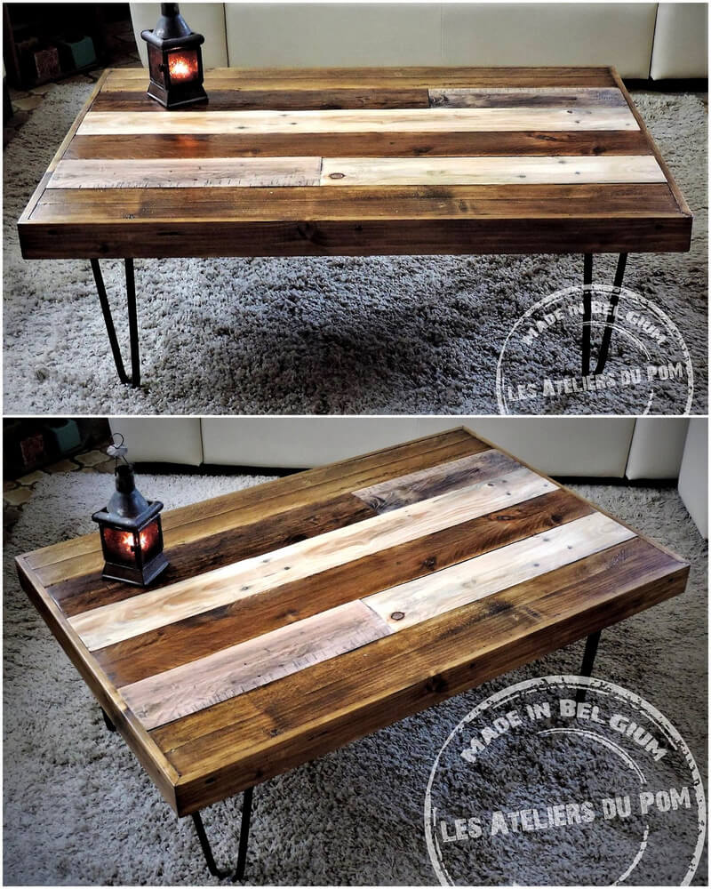 Creative ideas of how to recycle shipping wood pallets for Creative pallet