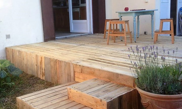 Simple And Creative Ideas Of How To Reuse Used Pallets