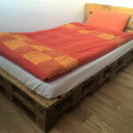 Most Quick And Simple Wood Pallet Bed Idea