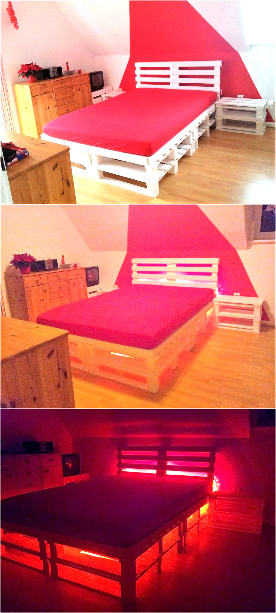Repurposed Pallet Bed Pallet Ideas