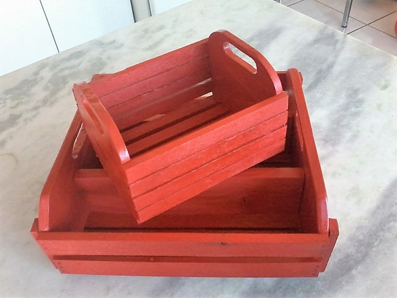 Pallet Tray Boxes For Cutlery
